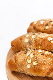 Healthy food bread cereal seeds Royalty Free Stock Photography