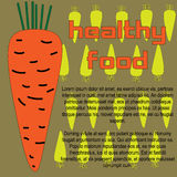Healthy food carrot Royalty Free Stock Images