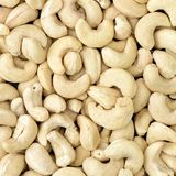 Healthy food,Cashew nuts as food background Royalty Free Stock Images