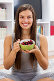 Healthy Food Cereal Muesli For Breakfast Stock Photography