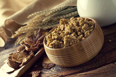 Healthy food - cereals Royalty Free Stock Photography