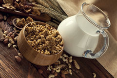 Healthy food - cereals Royalty Free Stock Image