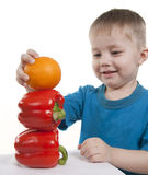 Healthy food of children. Stock Photos