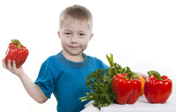 Healthy food of children. Stock Photography
