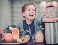 Healthy food for children royalty free stock photos