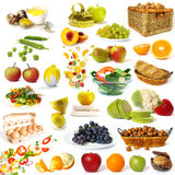 Healthy food collection royalty free stock photography