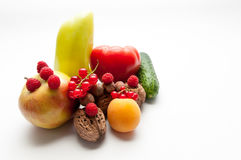 Healthy food composition Royalty Free Stock Photo