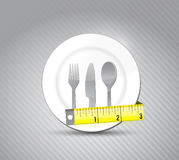 Healthy food concept illustration design Royalty Free Stock Photo