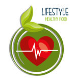Healthy food design Royalty Free Stock Photo