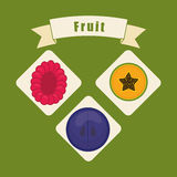 Healthy food design Royalty Free Stock Images