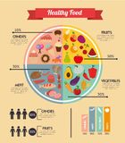 Healthy food design Stock Photo