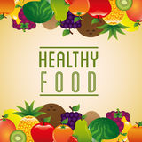 Healthy food design Stock Photo