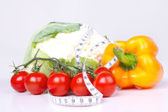 Healthy food for diet Stock Images