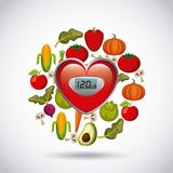 Healthy food for dieting design Stock Photography