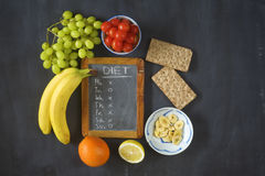 Healthy food, dieting Royalty Free Stock Photography