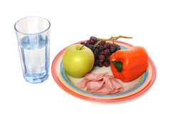 Healthy Food and Drink Royalty Free Stock Image