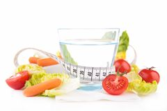 Healthy food and drink Stock Photo