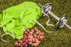 Healthy food, fitness theme Royalty Free Stock Image