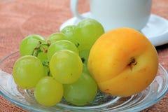 Healthy food. Fresh fruits Royalty Free Stock Image