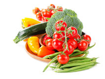 Healthy food - fresh vegetables Stock Image