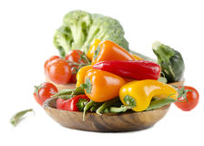 Healthy food - fresh vegetables Stock Photo