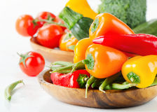 Healthy food - fresh vegetables Royalty Free Stock Images