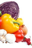 Healthy food. Fresh vegetables. Royalty Free Stock Photo
