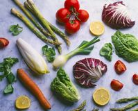 Healthy food. Fruits and vegetables. stock photography