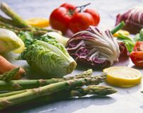 Healthy food. Assorted vegetables. royalty free stock photography