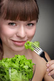Healthy food for girl Stock Photography