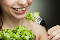 Healthy food for girl Stock Photo