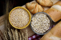 Healthy food grains Royalty Free Stock Image