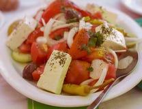 Healthy Food Greek Salad Stock Image