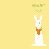 Healthy food greeting card Stock Photos