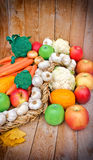 Healthy food - healthy eating Stock Image