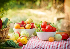 Healthy food for healthy leaving Stock Images