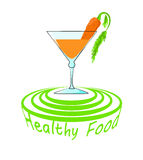 Healthy food icon Royalty Free Stock Images