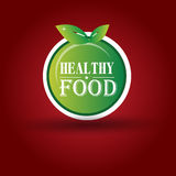 Healthy Food Icon Stock Images