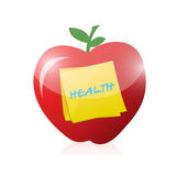 Healthy food illustration design Royalty Free Stock Images
