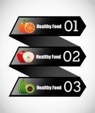 Healthy food infographics Stock Photo