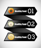 Healthy food infographics Royalty Free Stock Image