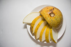 Healthy food: melon Stock Image