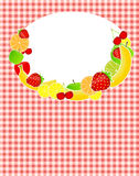 Healthy food menu template vector illustration. This is file of EPS10 format Stock Photos