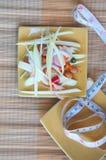 Healthy food: mix mango royalty free stock photography