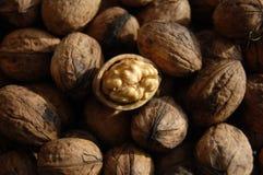 Healthy food natural walnuts Royalty Free Stock Photo