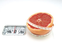 Healthy food, nutrition and fruits – Grapefruit Royalty Free Stock Photography