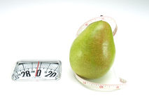 Healthy food, nutrition and fruits – pear Stock Photography