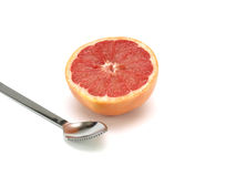 Healthy food, nutrition and fruits – Grapefruit Stock Image