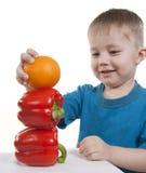 Healthy Food Of Children. Stock Photos