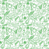 Healthy food pattern Royalty Free Stock Photo